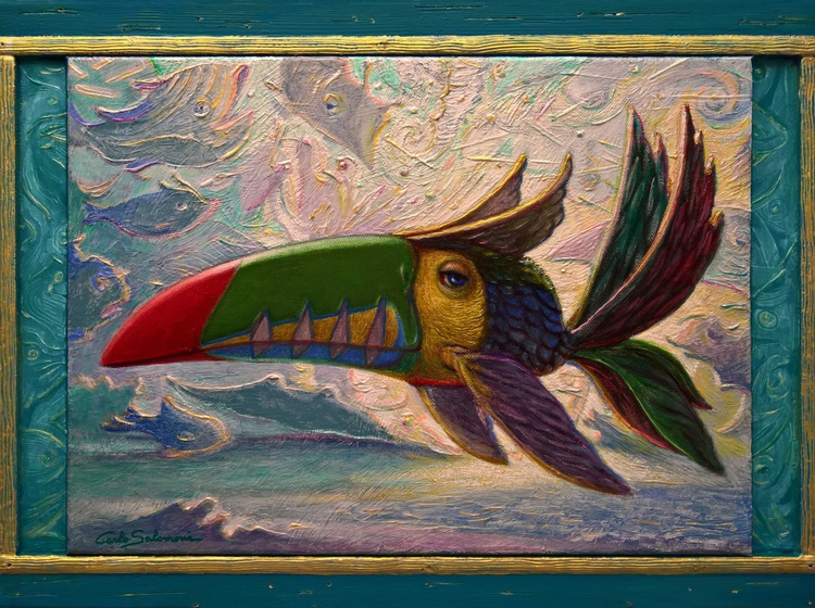 THE TOUCAN FISH - (framed) - Image 0