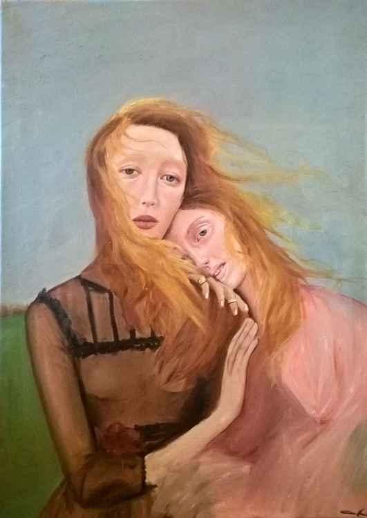Girls in the wind