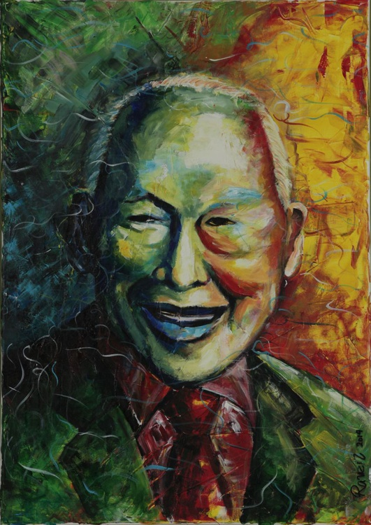 MY ALMA MATER. MY PRIME MINISTER. MY LEE KUAN YEW - Image 0