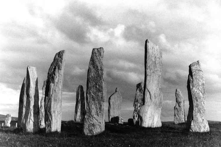Stones at Callanish -