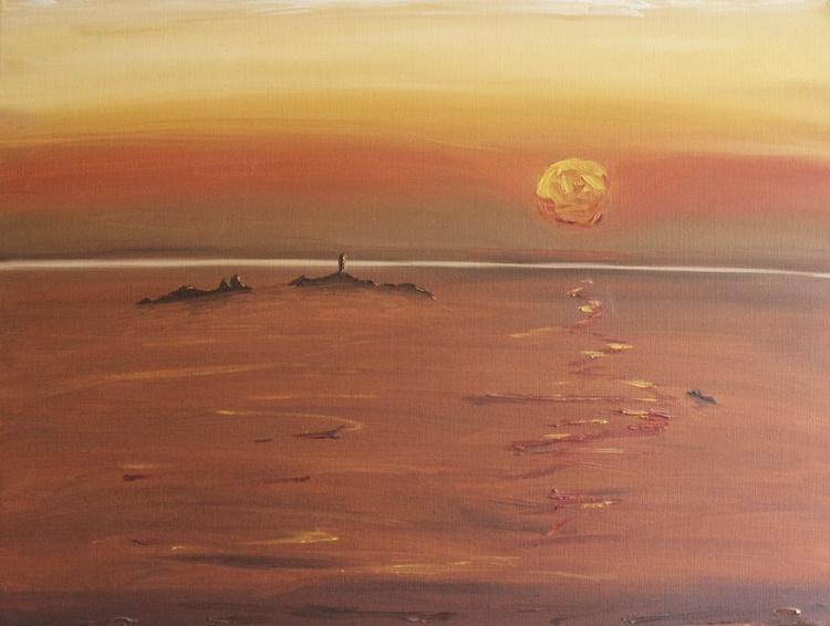 Longships Light from Landsend - Image 0