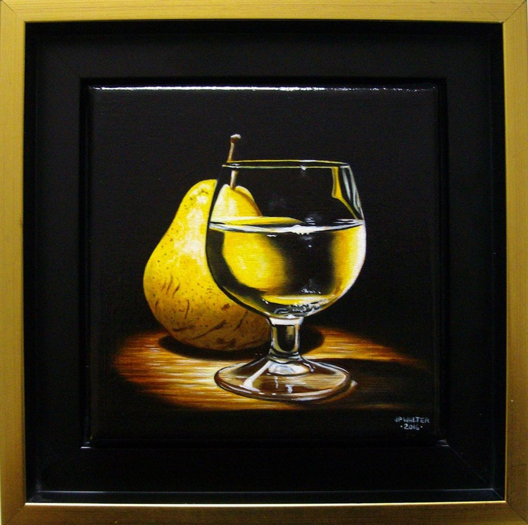 Through a glass of brandy - Image 0