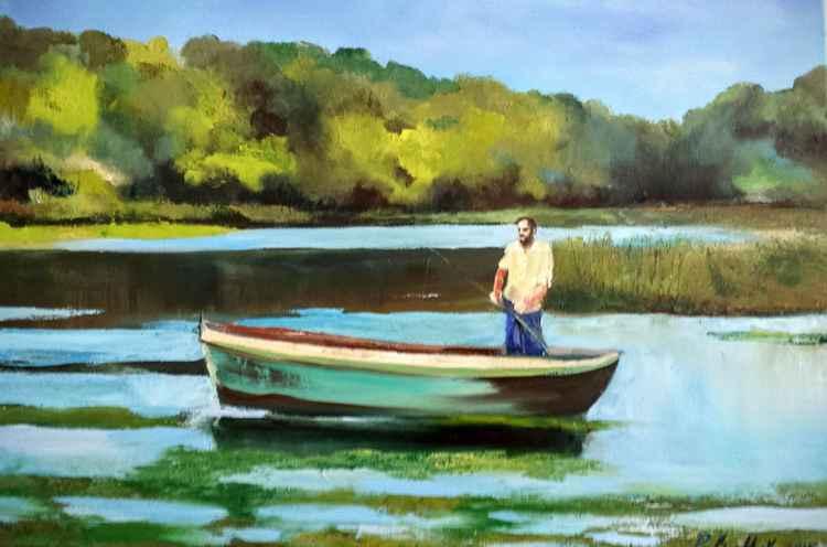 A Fisherman -