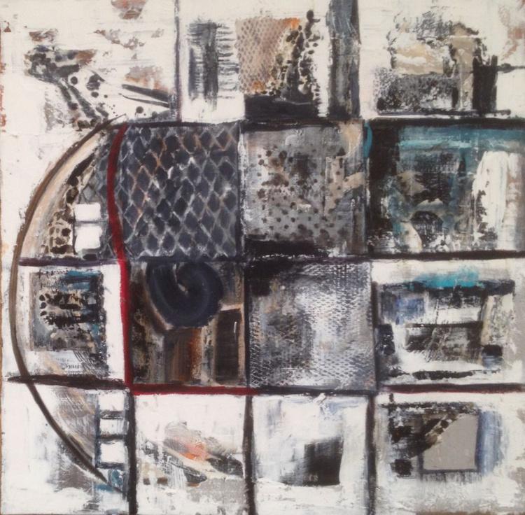 Abstract Acrylic 100x100 - Image 0