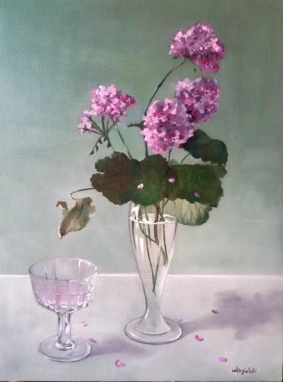 Still life in pink - Image 0