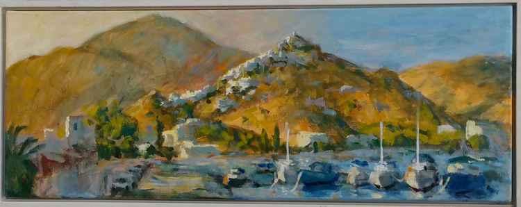 Aegean port