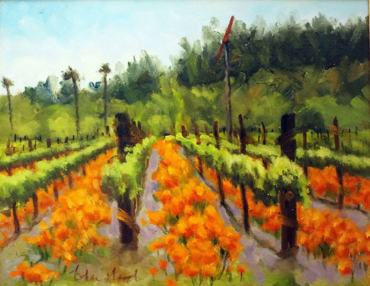 Poppies and Vines - Image 0
