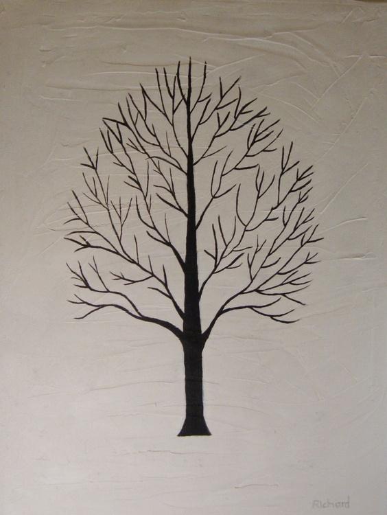 Black tree 2 - Image 0
