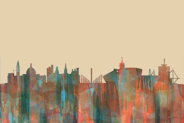 Cardiff, Wales Skyline - Navaho -