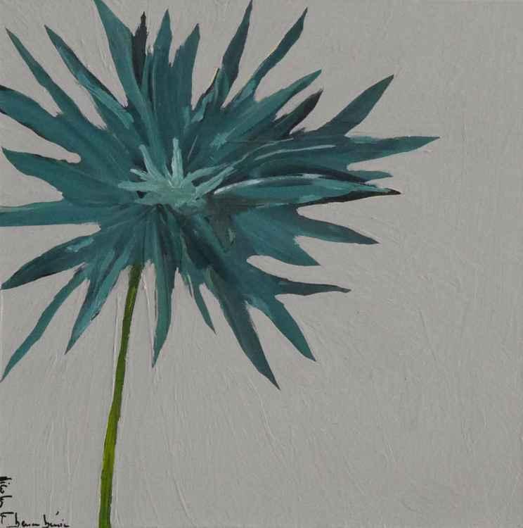 Blue flower II -