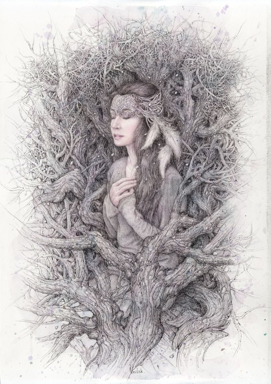 Forest witch. - Image 0