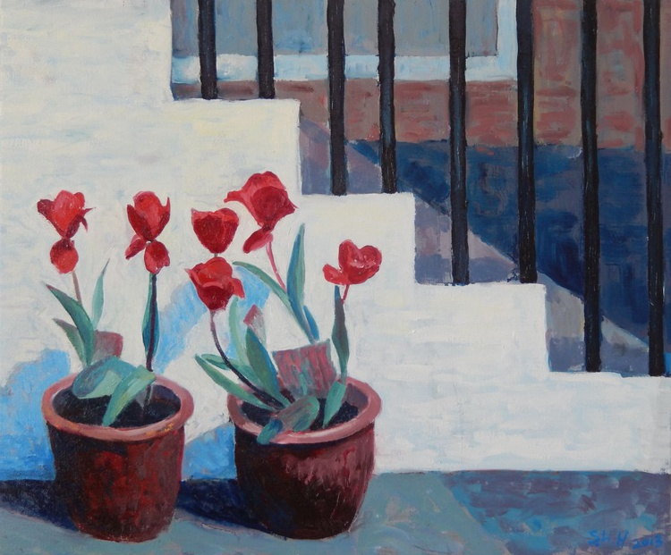 Tulips by The Steps - Image 0