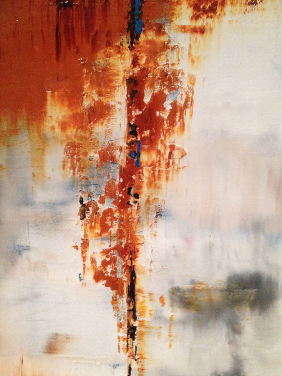 Rust Vii Abstract Painting 2016 Oil Painting By