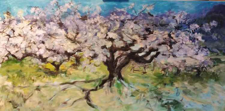 """""""Blossemtree in landscape"""" -"""