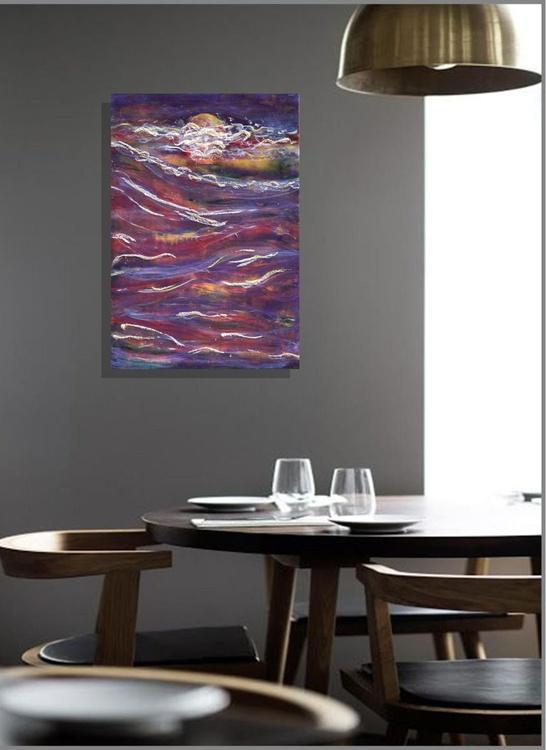 Lunar Storm - Original Painting - Image 0