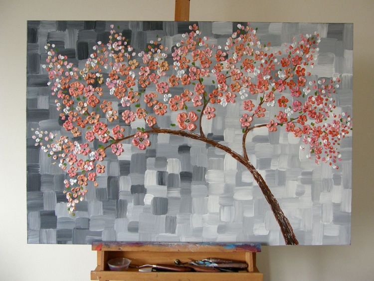 Blooming Cherry Tree - Image 0