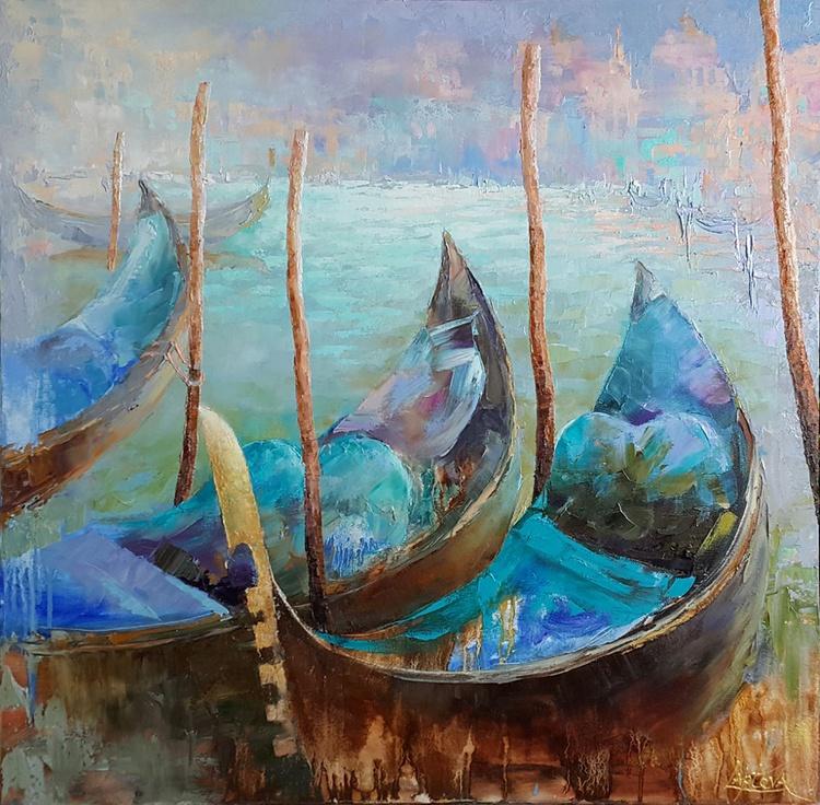 Venice. Morning contemplation - Image 0