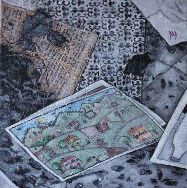 "C'ERA UNA VOLTA (part of the ""Conza:  details"" series of 7 paintings) -"