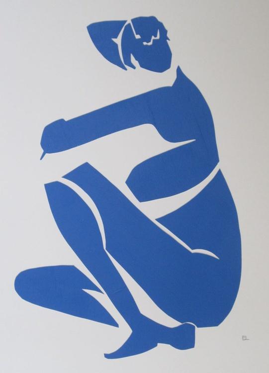 Rebecca in Blue - Image 0
