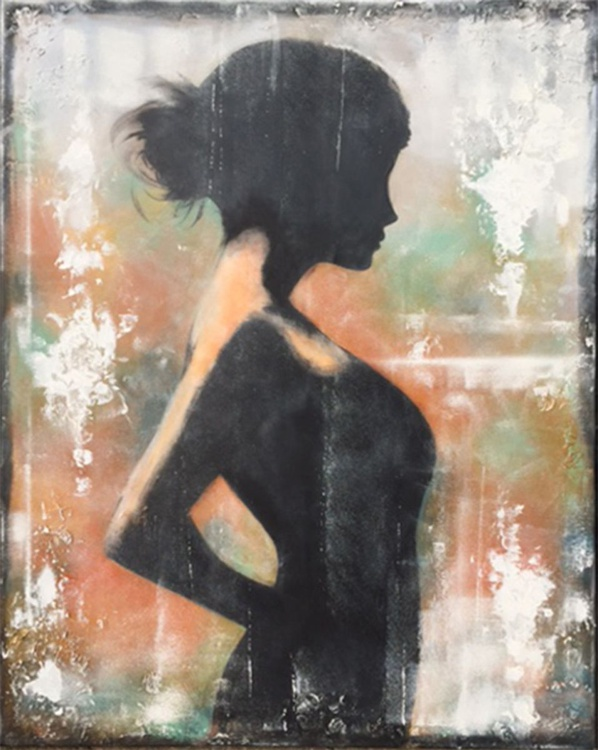 waiting (100 x 80 cm) - Image 0