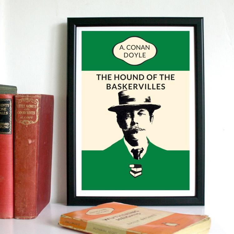 The Hound of the Baskervilles (A4, Framed) - Image 0