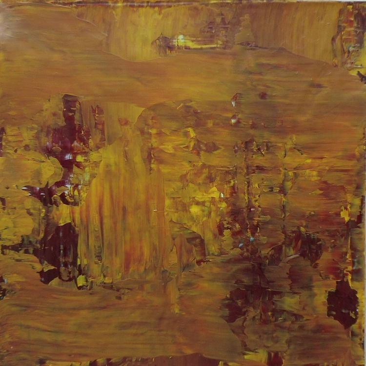 "Mustard - 8x8"" - READY TO HANG - GIFT SIZE ART - Image 0"