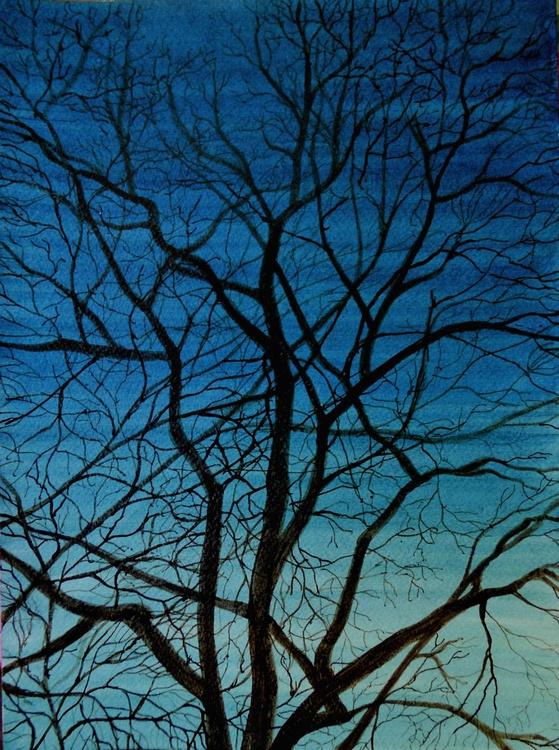 WINTER TREE (Dark Branches) - Image 0