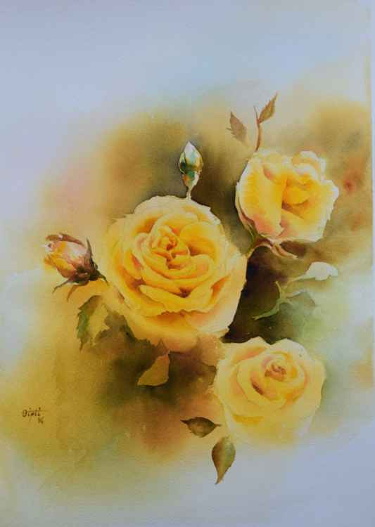 Yellow Roses -