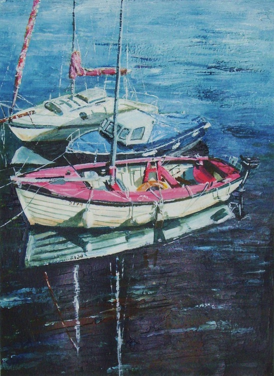 Boats in Castletown Harbour - Isle of Man 1 - Image 0