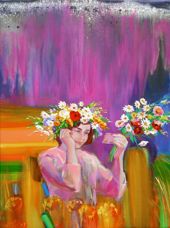 Flower-crown. Tall Grass. - Image 0