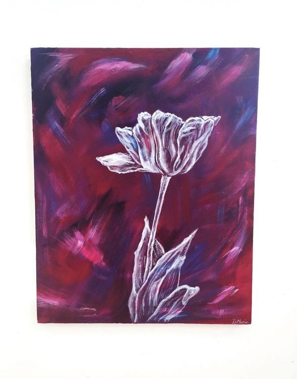 Tulip On Magenta - Image 0