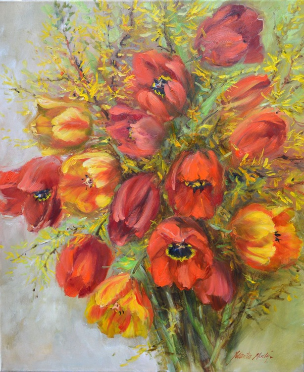 Bouquet of Tulips - Image 0
