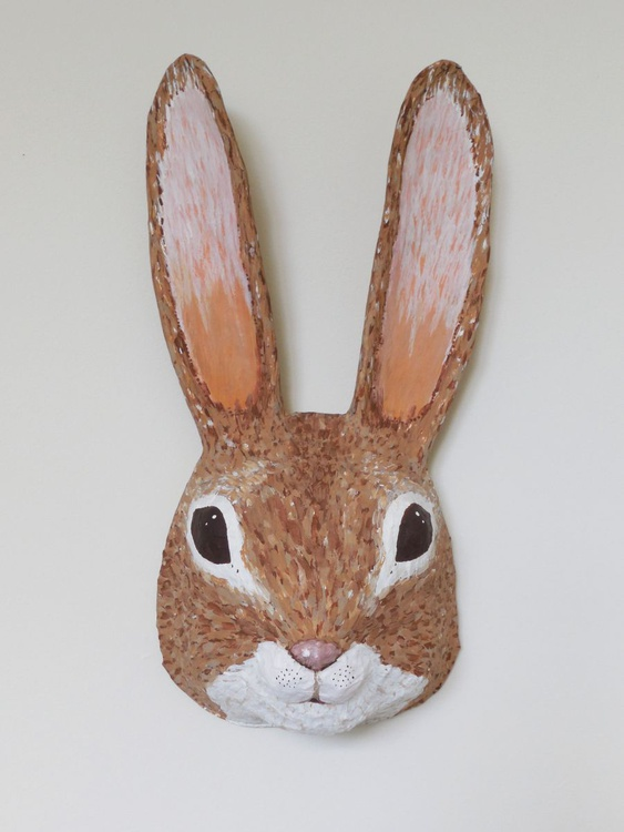 Cottontail Rabbit Head - Image 0