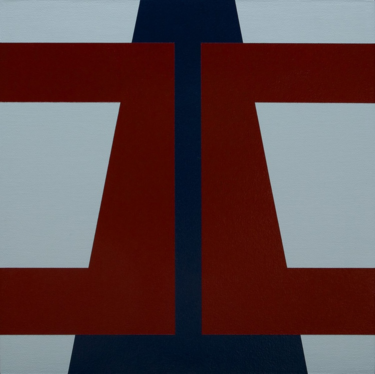 """""""CANTO"""" -  Modernist Geometric Painting - Image 0"""