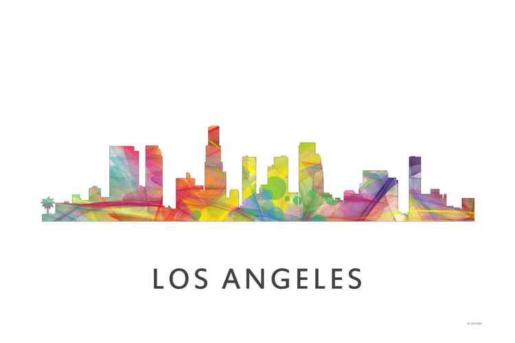 Los Angeles California Skyline WB1 -