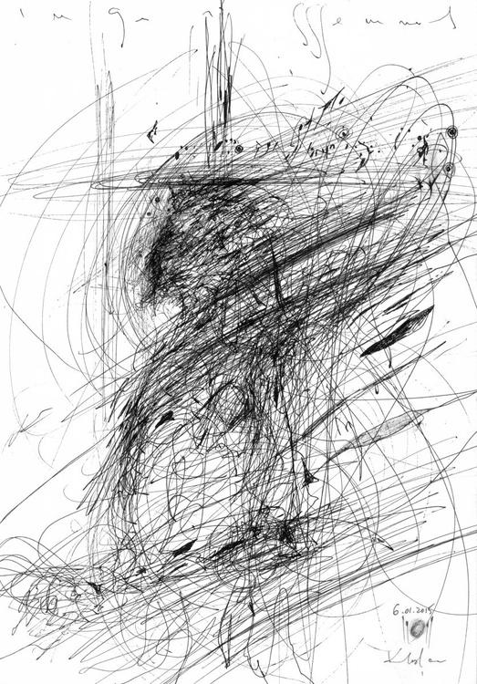 A SPECIAL GIFT COLLECT KLOSKA S ANGELS UNIQUE VISION SPONTANE TEHNIQUE AMAIZING ART - Image 0