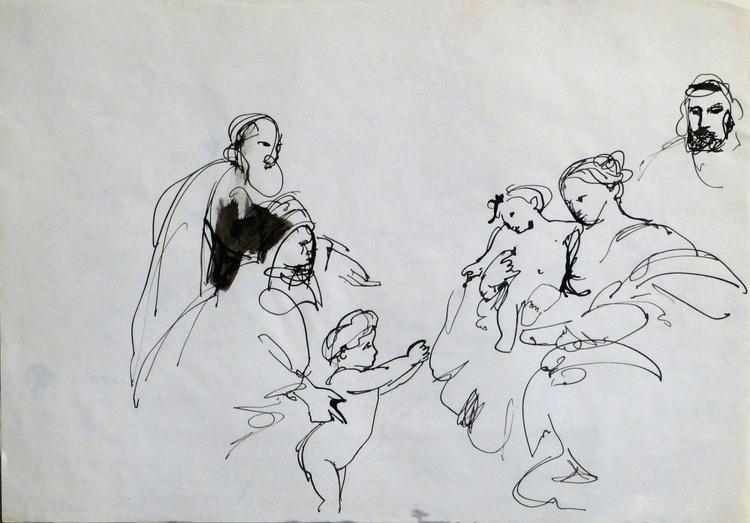 Study of Rubens 2, 29x21 cm - Image 0