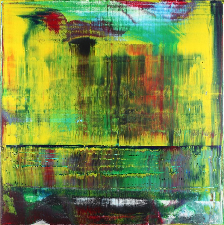 Abstract yellow & green 02 - Image 0