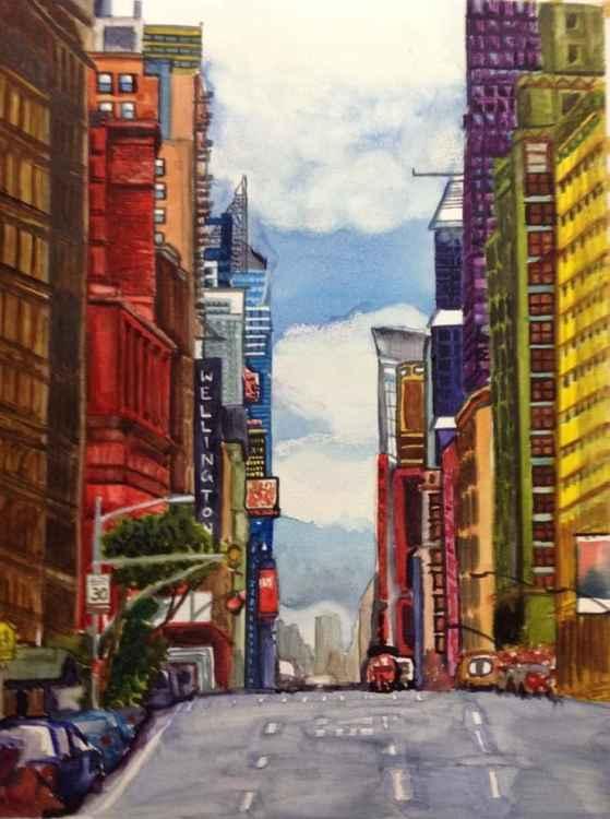 NYC street -