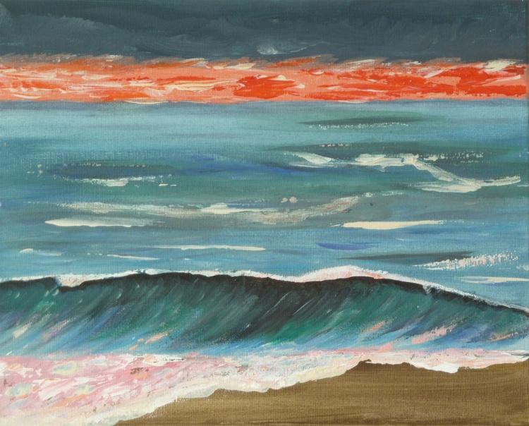 Evening sea - Image 0