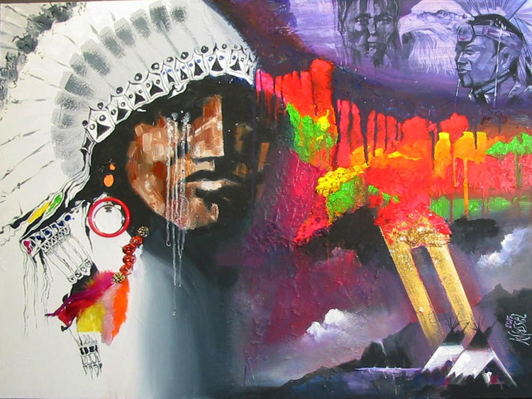 HOMAGE TO AMERICAN INDIAN - Image 0