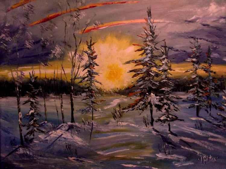 "UNIQUE WORK ""Christmas Rhapsody "" by VALERIY POLITOV."