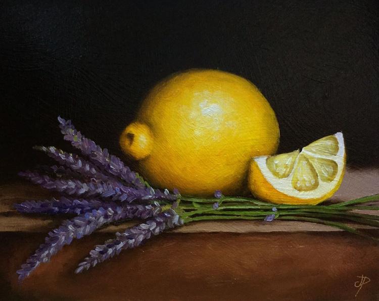 ORDER for Jennifer. Lemons with lavender - Image 0
