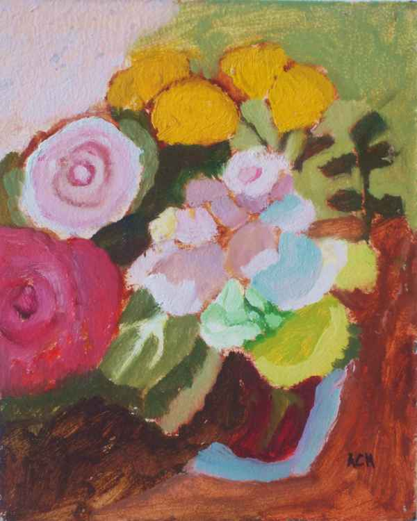 Quogue Flowers in Vase #1 -