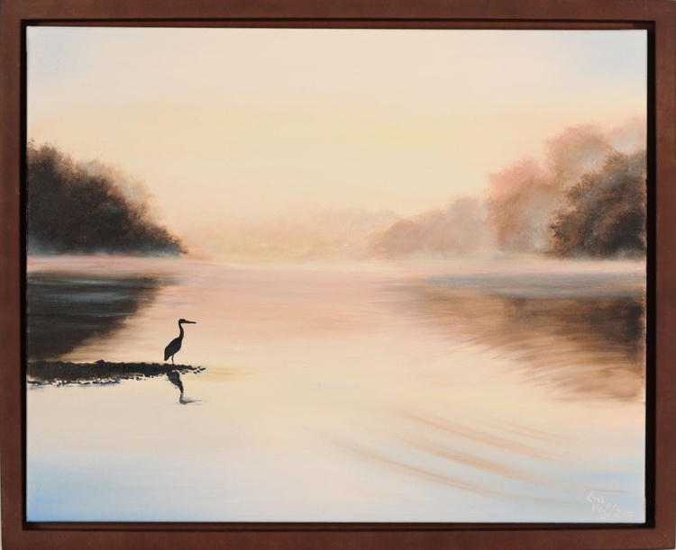 Dawn at Hudson Springs Lake - Image 0