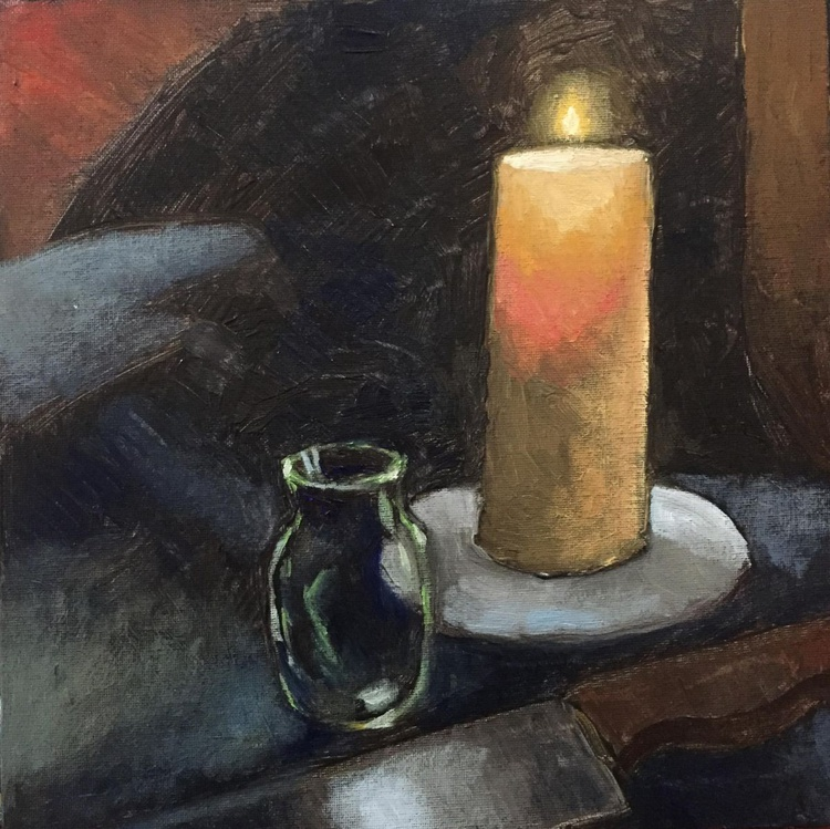 A Candle and A Knife - Image 0