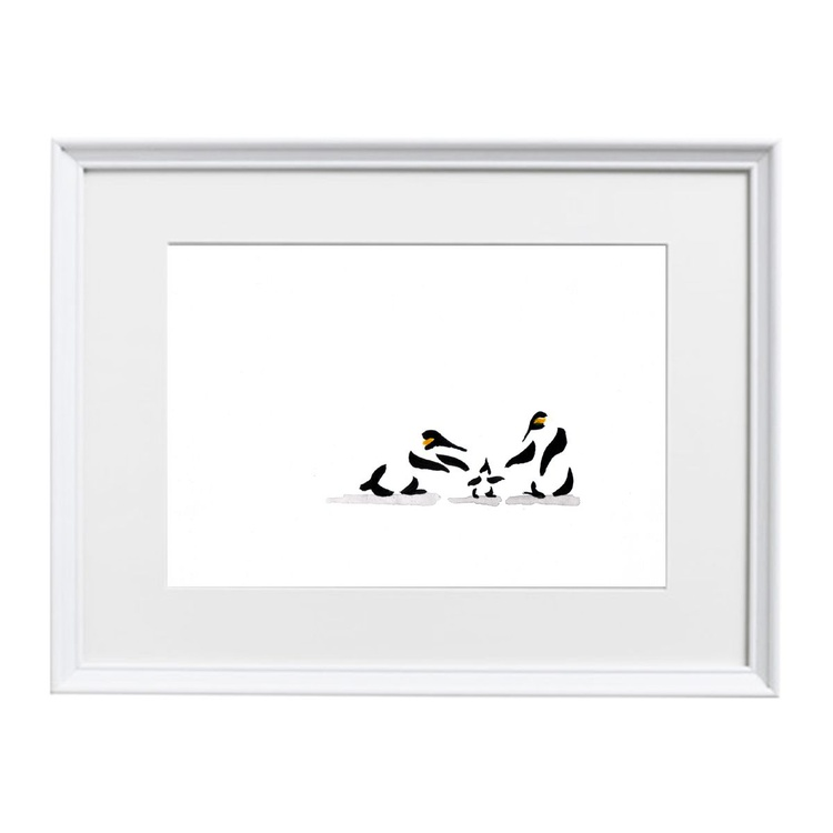 Two penguins and a chick - Image 0