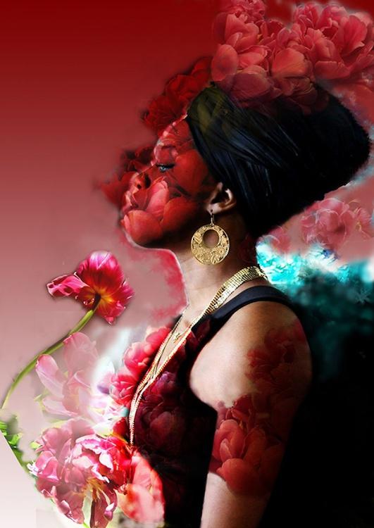 Ornella in roses - Image 0
