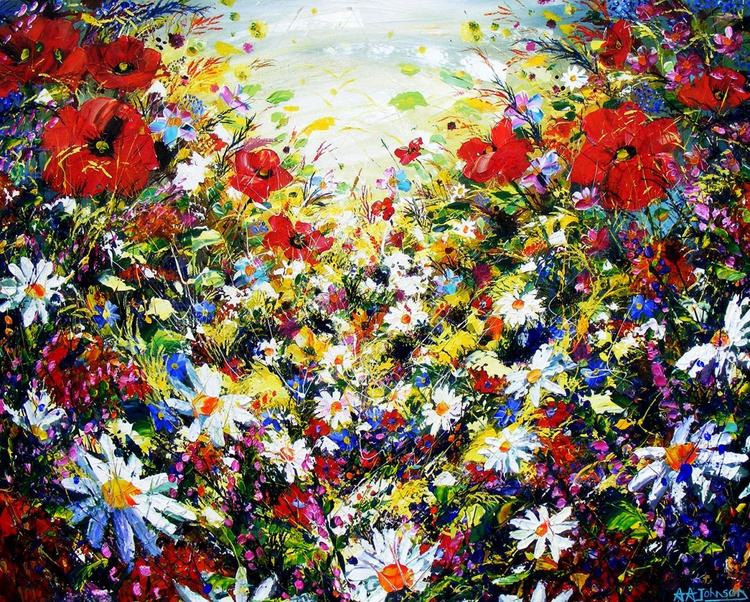 "Large canvas art - ""Regal Opulence"" - Image 0"
