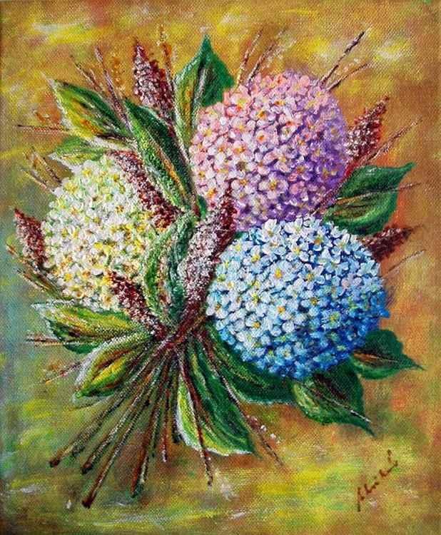Still life - hydrangea..